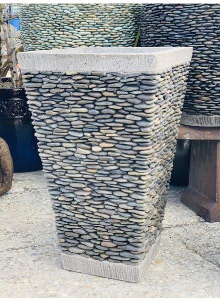 Pebble Square Medium Natural