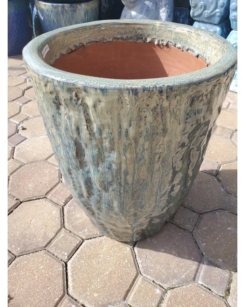 Premium Rocco Round Planter Medium NC