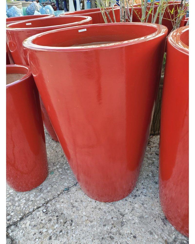 Premium Lombardy Round Slim Planter Large R