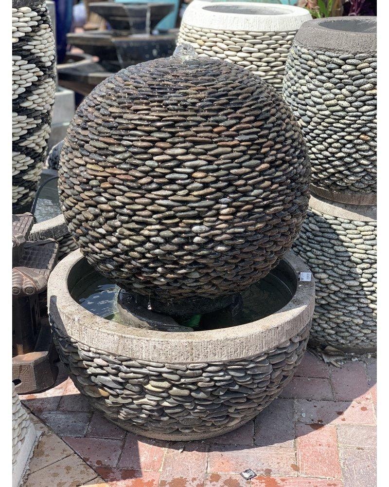 Pebble Sphere Fountain N