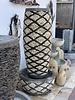 Pebble Tall Slim Barrel Fountain XLarge