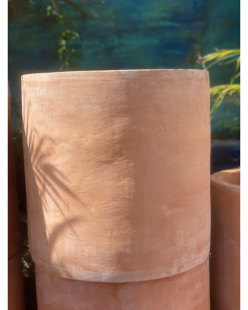 Terracotta Cylinder Planter Large