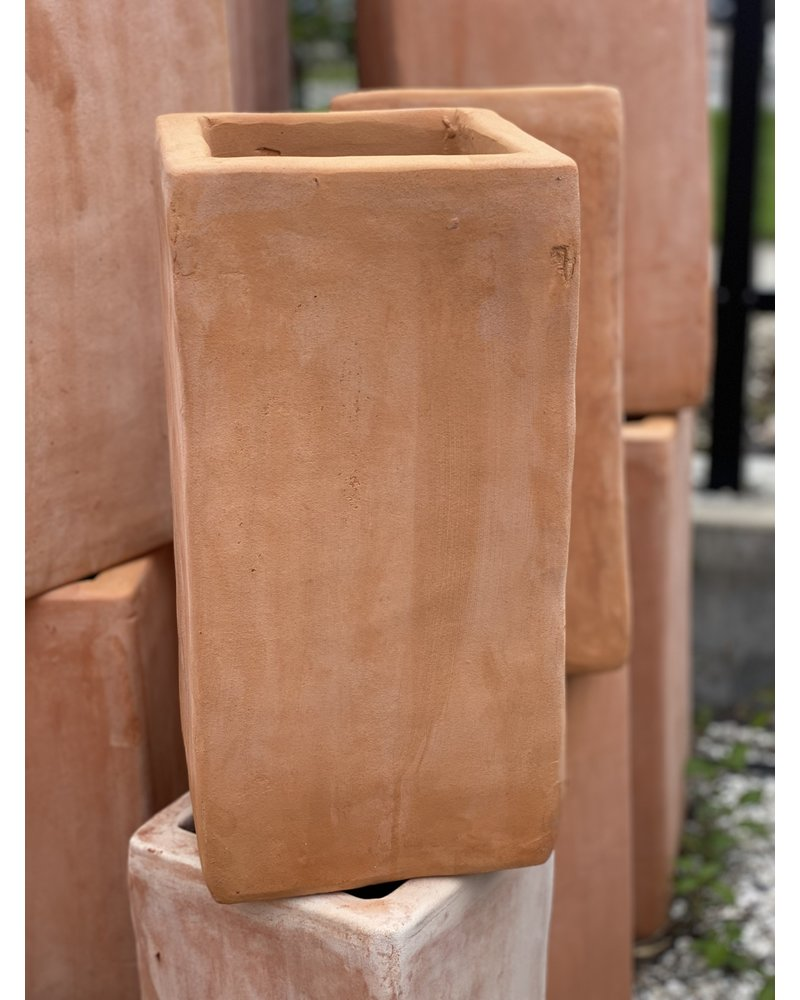 Terracotta Tall Square Small