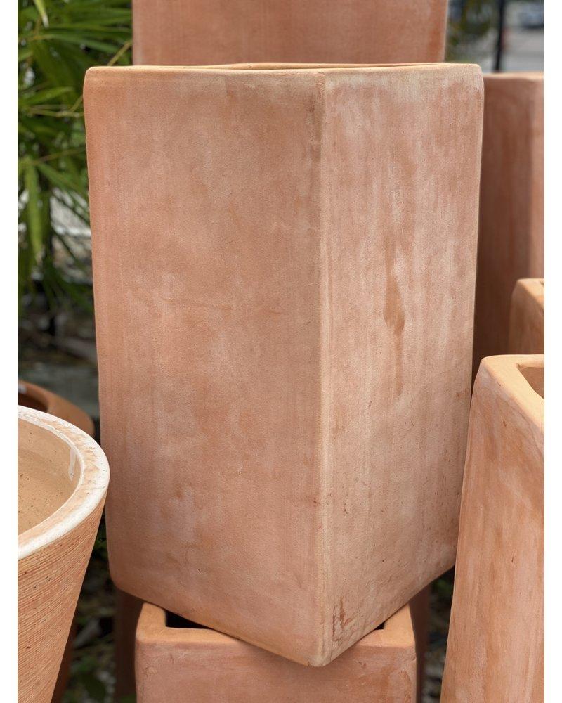 Terracotta Tall Square Medium