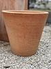 Terracotta Round Tapered Scraped Medium