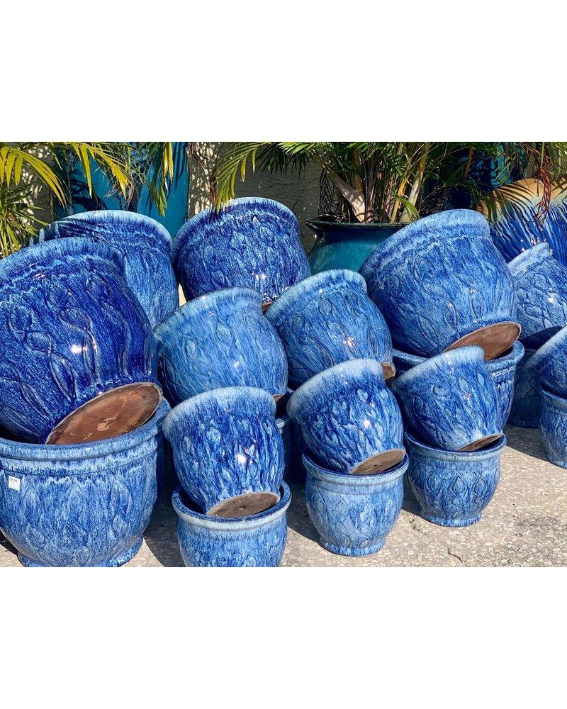 Premium Palmetto Swirl Planter Large FB