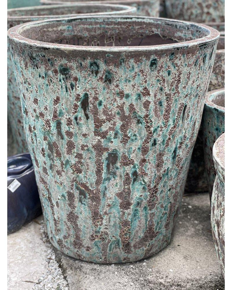 Ellenton Tapered Lava Planter Large BAG