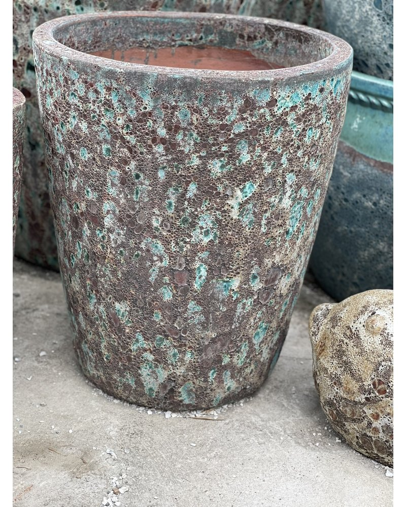 Ellenton Tapered Lava Planter Medium BAG