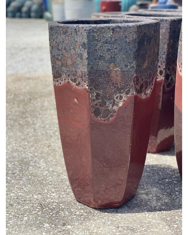 Lava Octagon Planter Small BCR