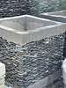 Pebble Cube Planter Md Natural