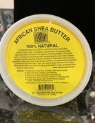 African Shea Butter Cream 100% Pure & Raw 16oz
