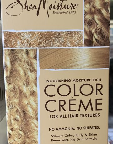 Shea Moisture Med. Blonde Color