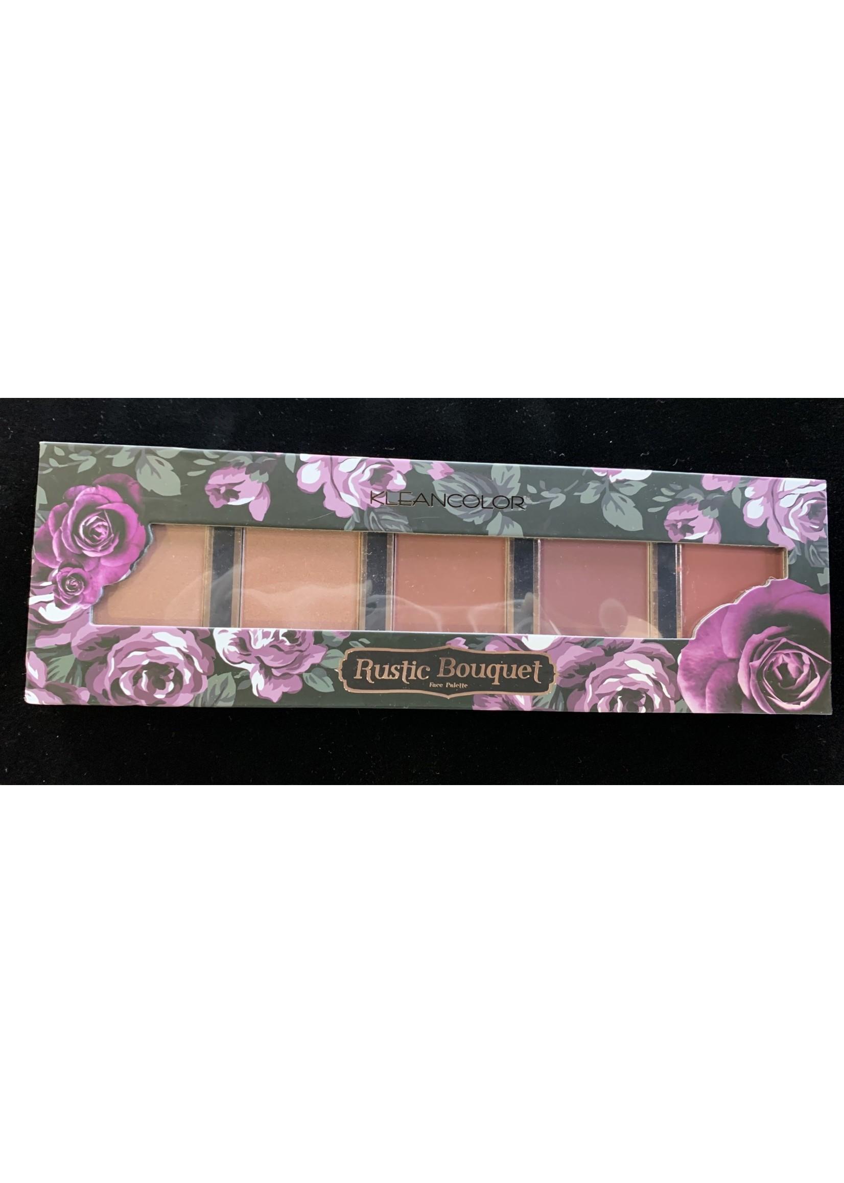 Kleancolor Rustic Bouquet Blush Palette