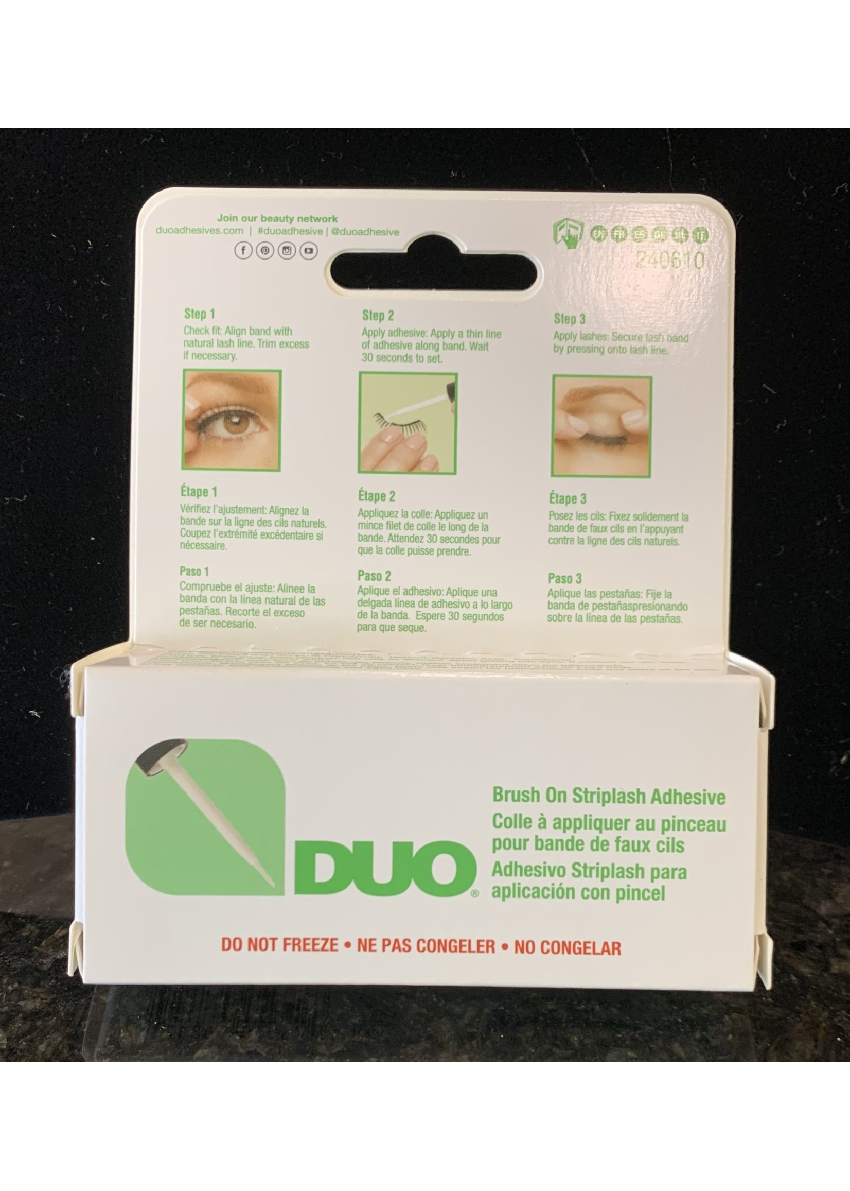 Duo Brush Striplash Adhesive