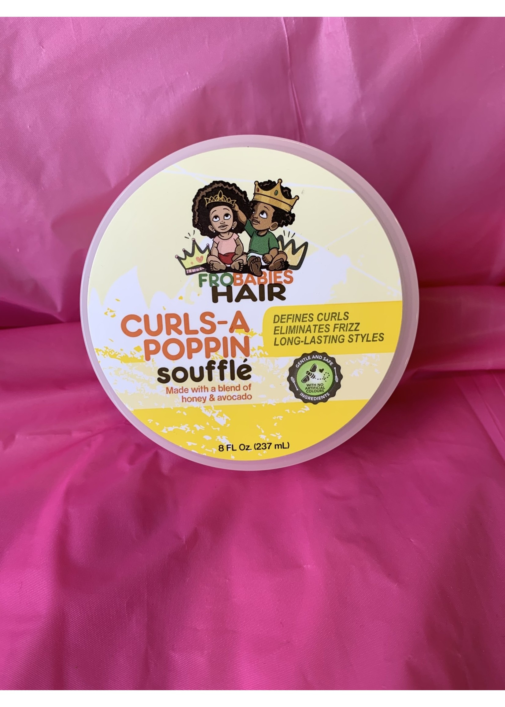 Frobabies Curls A Poppin Souffle