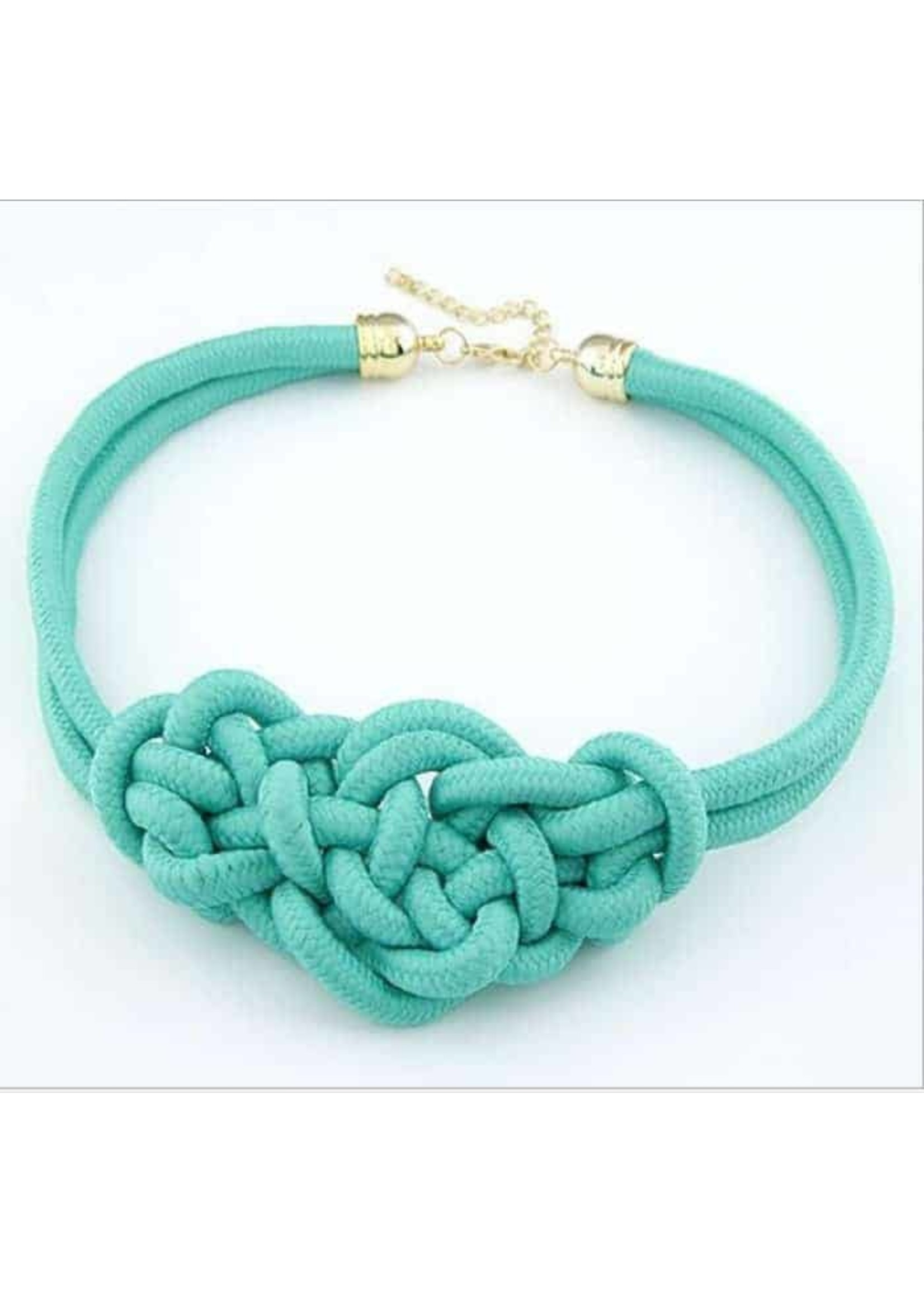 Knot Necklace-Handmade
