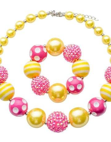 Chunky Kids Necklace-KIDS (includes bracelet)