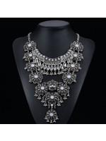 Vintage Silver Necklace-Statement