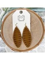 Mix Mercantile Designs Leif Earrings Camel