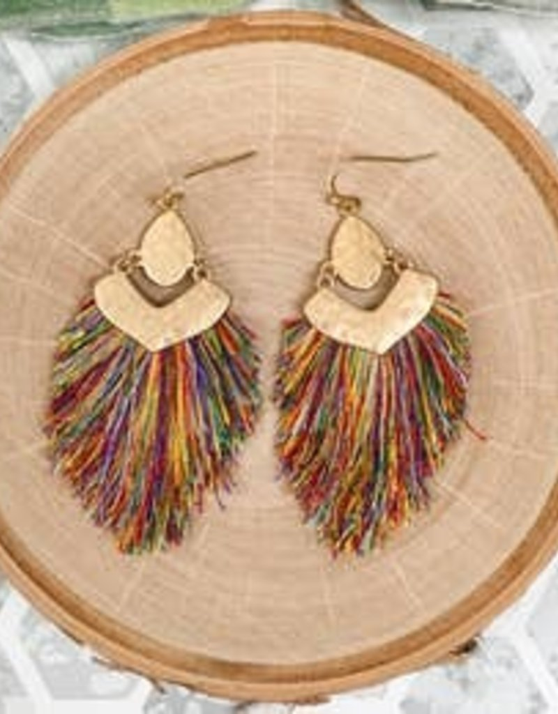 Mix Mercantile Designs Tagus Earrings Multi