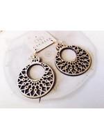 Cecelia Wooden Earrings