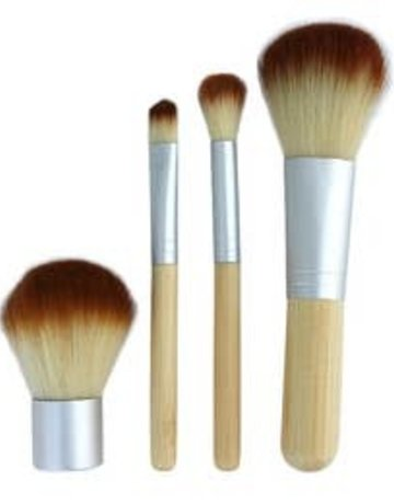free wholesale Mini Bamboo Brush Set