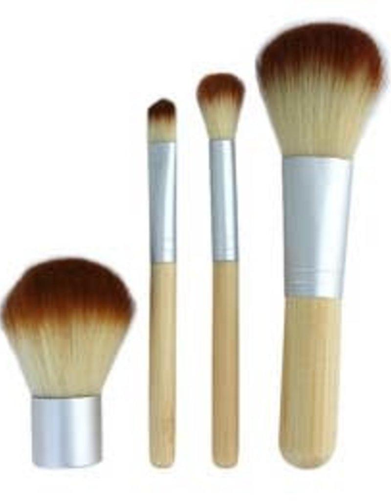 free wholesale Mini Bamboo Brush Set