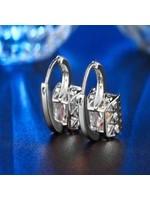 free wholesale Shiny Crystal Hoop Earring