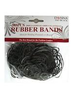 Donna 200 Piece Rubber Bands Black #267