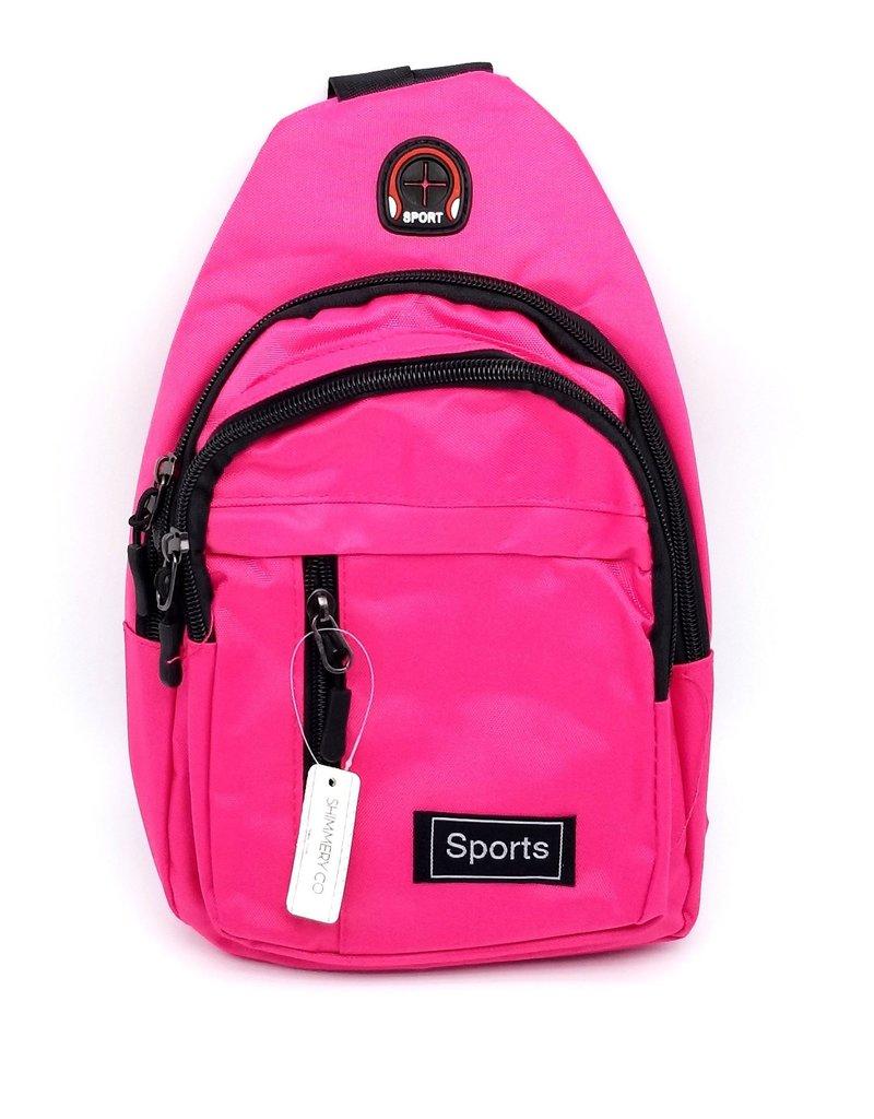Neon Pink Shoulder Bag