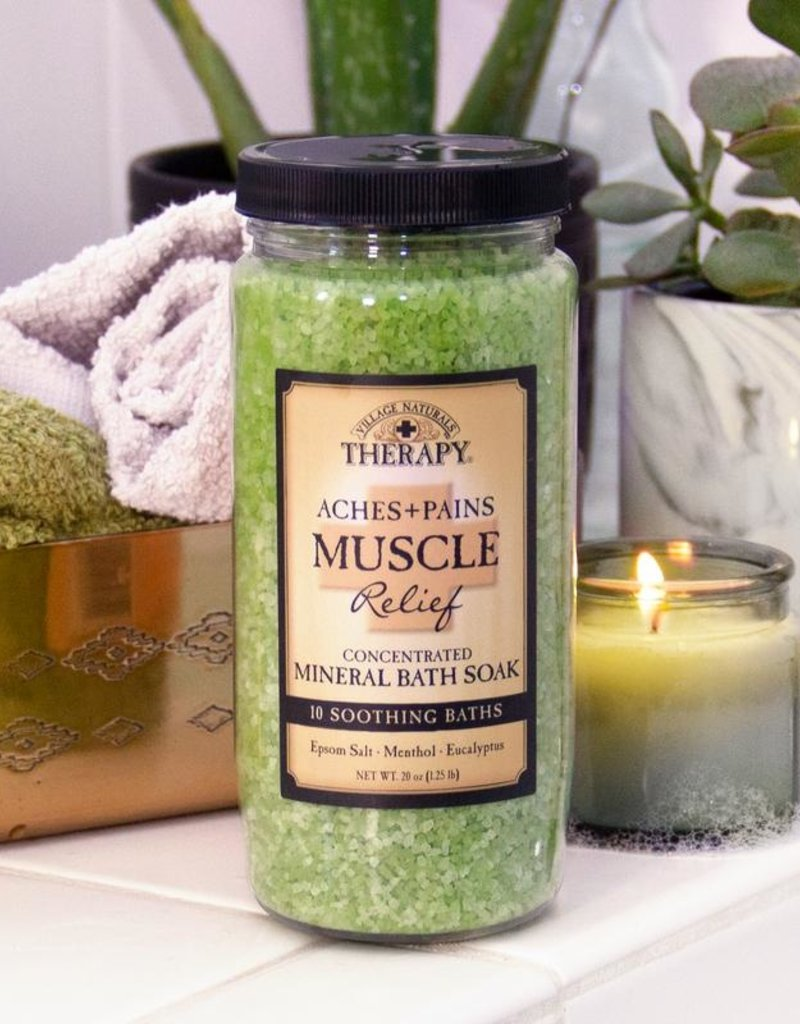 Village Natural Aches -Muscle Mineral