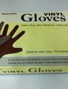 Annie Pwder Free Brown Vinyl Gloves  50pcs