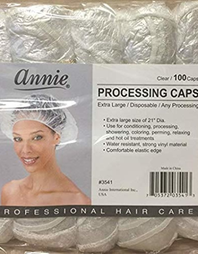 Annie Processing Caps Clear Large