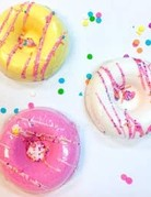 Kinsey Kakes Bath Pink Bath Donut Bomb