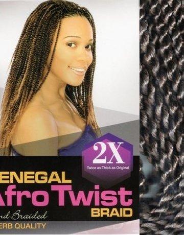 SENEGAL AFRO TWIST BRAID 2 X - AFRO BEAUTY