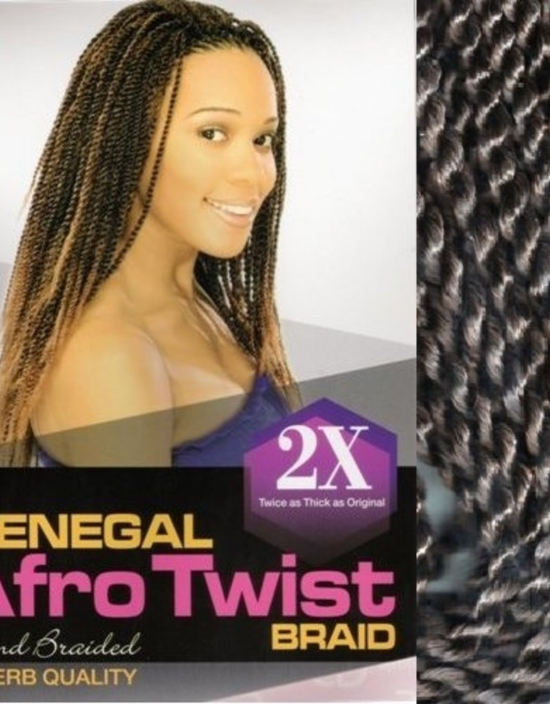 SENEGAL AFRO TWIST BRAID 2 X - AFRO BEAUTY