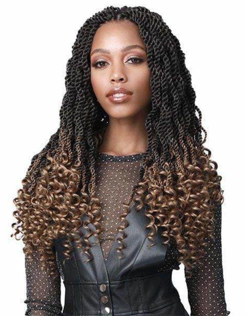 Senegal Twist Curly Tips 18 2x