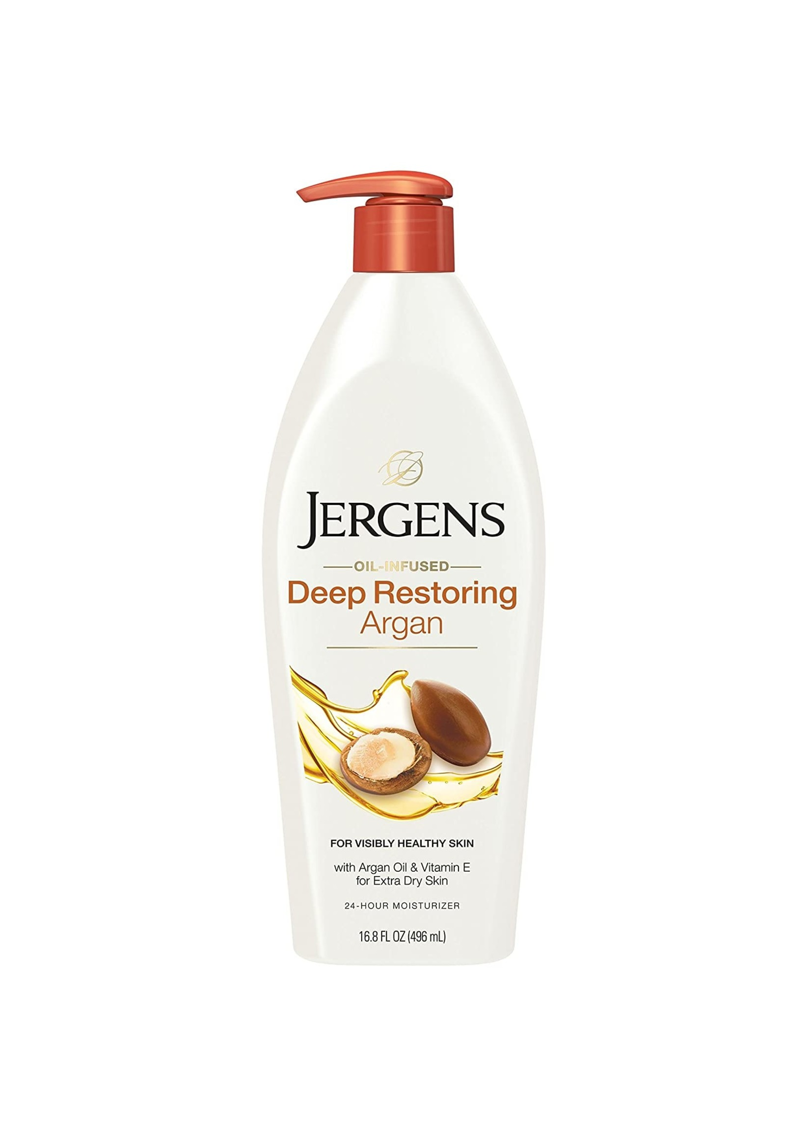 Jergens Deep Restoring Argan Lotion 16.8