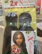 """XPression 2x Hair 48"""" Color 4"""