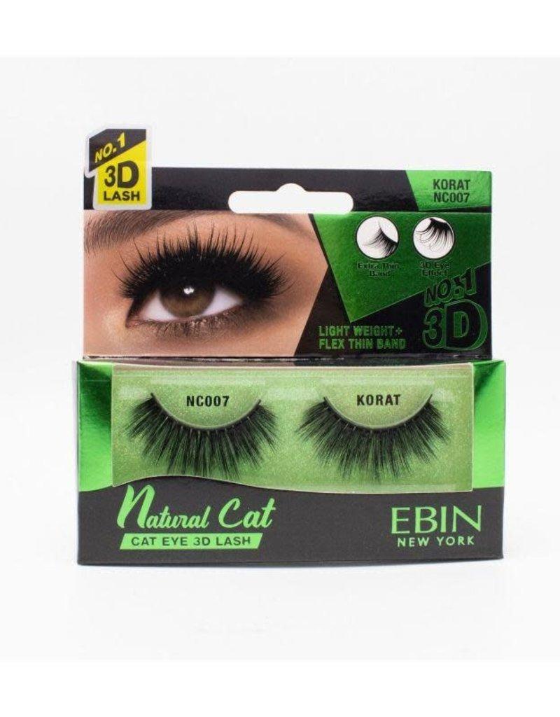 Ebin Natural Cat 3D Lash; Korat