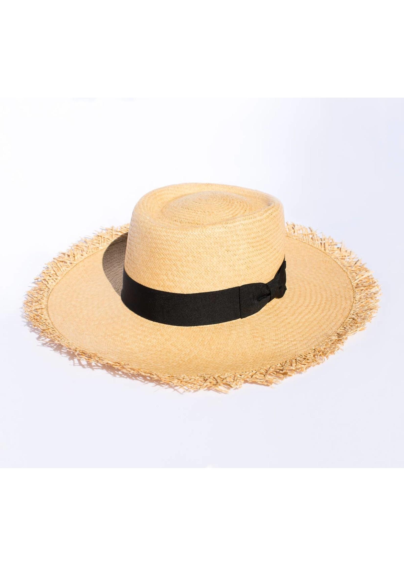 Elegancia Tropical Hats Loose Straw Panama Hat