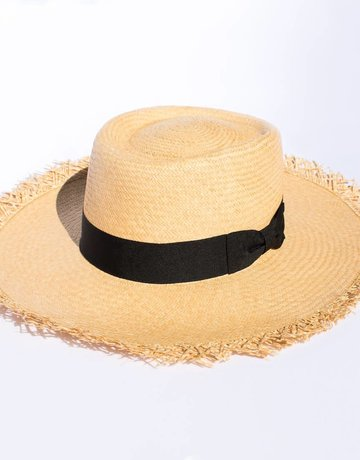 Elegancia Tropical Hats Loose Straw Panama Hat