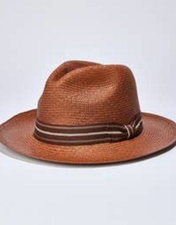 Classic Caramel Panama Hat