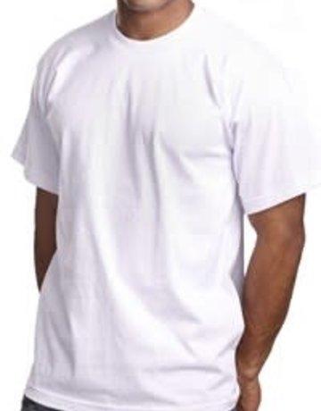 Pro5 White Solid T-Shirt (Medium)
