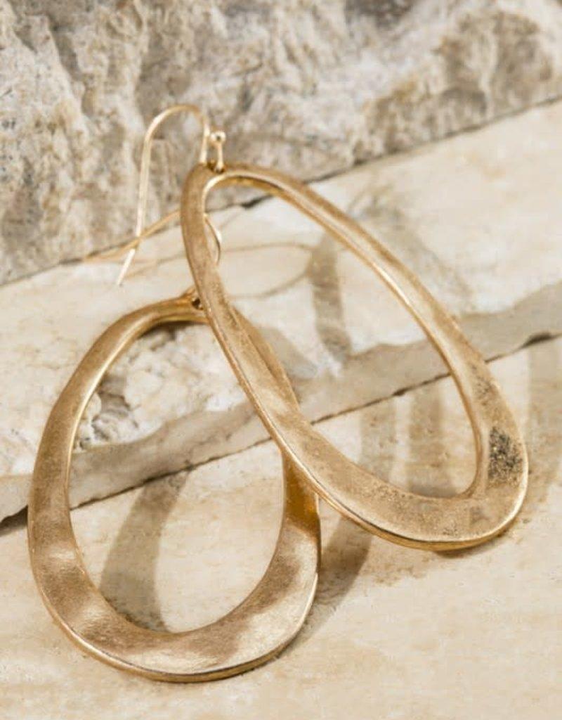 urbanista Classic Open Metal Earrings