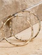 urbanista Metal Hoop Earrings