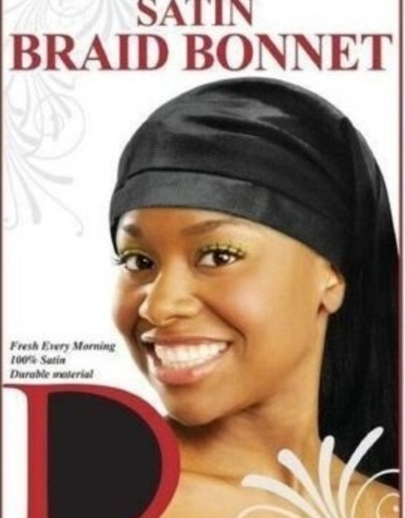 Satin Braid Bonnet