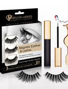 3D Magnetic Lashes w/Eyeliner & Tweezers