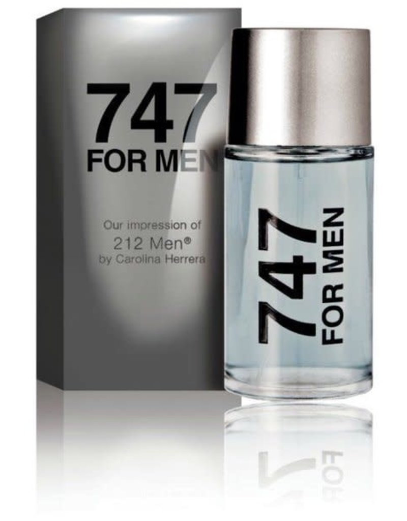 Trend Factory 747 Men's Cologne 3.4oz