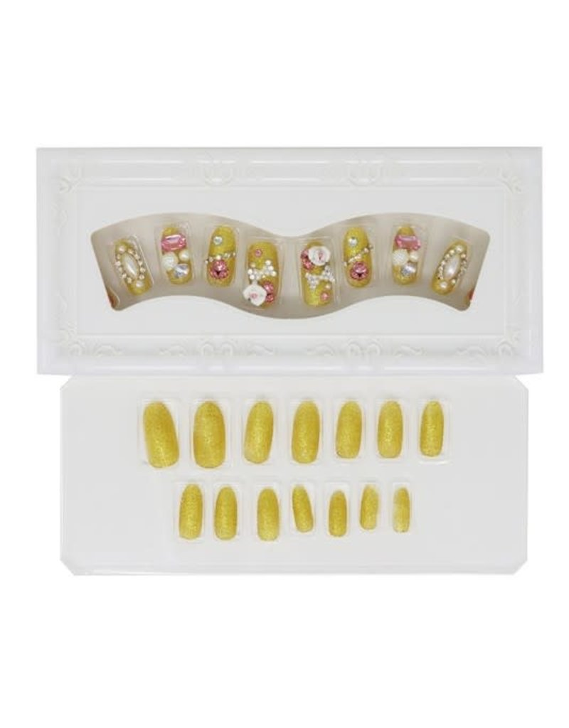 Pineapple Beauty 24pc Luxury Designed Nail Tips